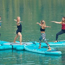 SUP Yoga am Sorpesee