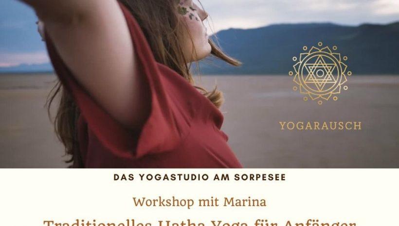 Workshop – Traditionelles Hatha Yoga für Anfänger am 15.8.2021