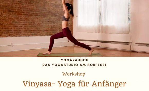 JETZT ist der Moment um mit Yoga anzufangen! Einsteiger Workshop am 17.07.2021