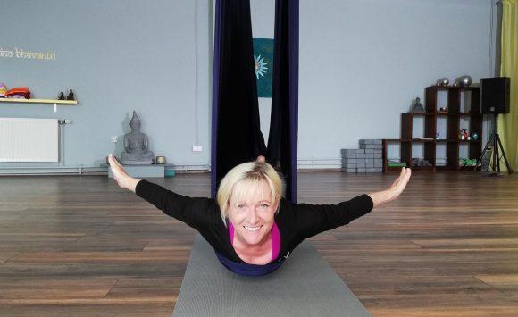 Aerial Yin Yoga- Ausbildung für Yogalehrer oder begeisterte Aerialyoginis und Yogis