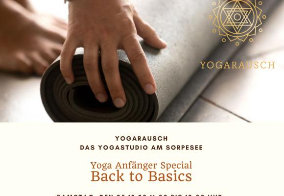20.02.2021: Anfänger Special- Back to Basics! Mit Rosalie Schwarz